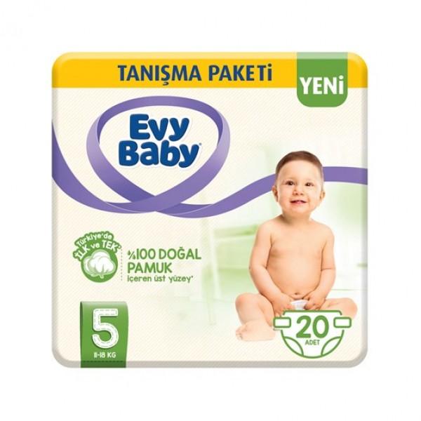 Evy Baby Tanışma Paketi Junıor 20'li