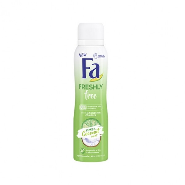 Fa Deodorant Bayan Freshly Free