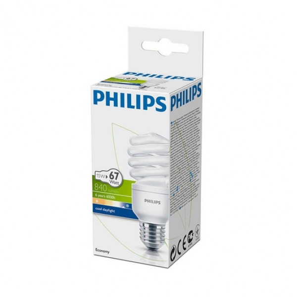 Philips Econ Twister 15w e27 Beyaz